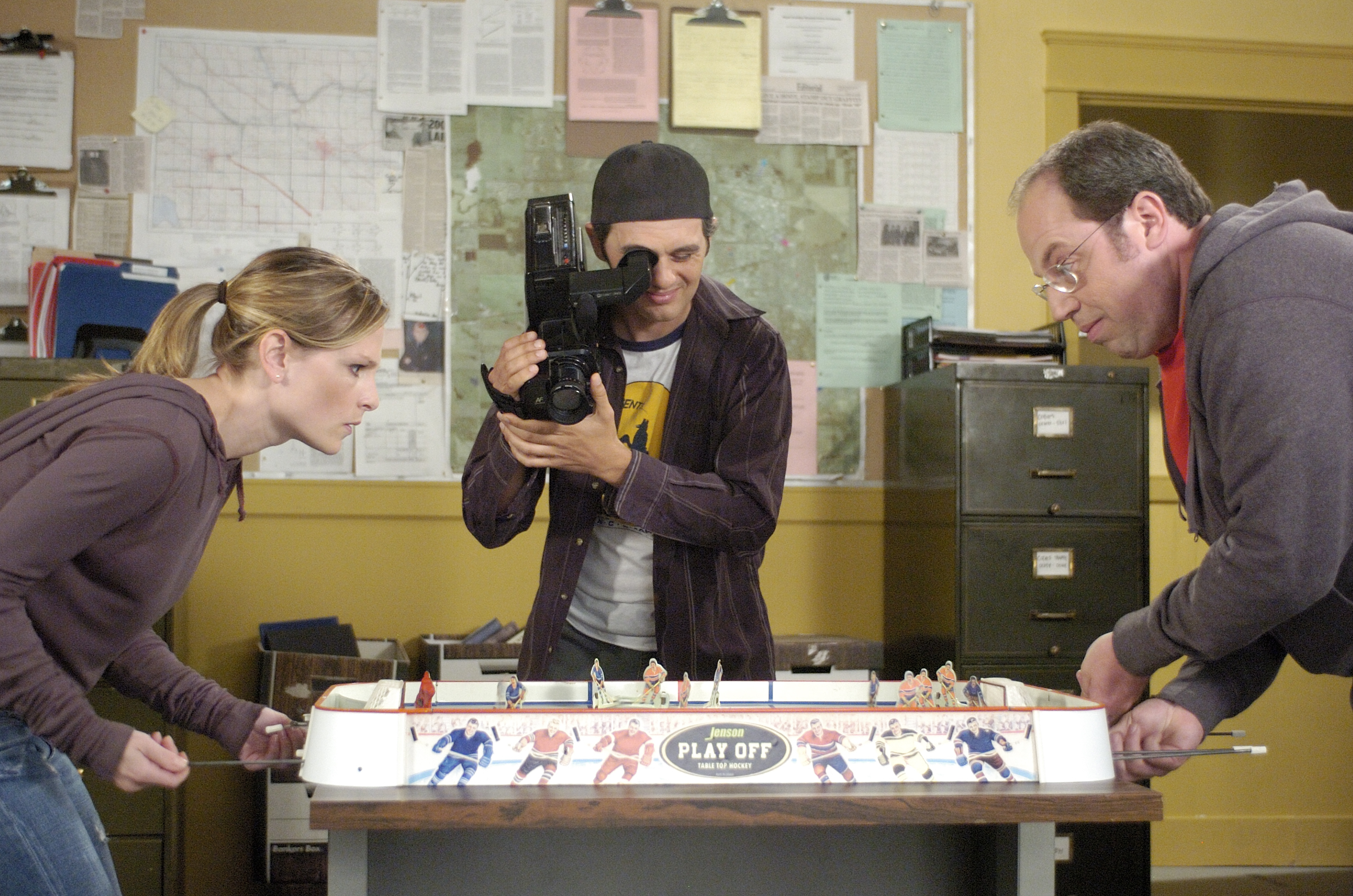 The Good Old Table Hockey Game Corner Gas