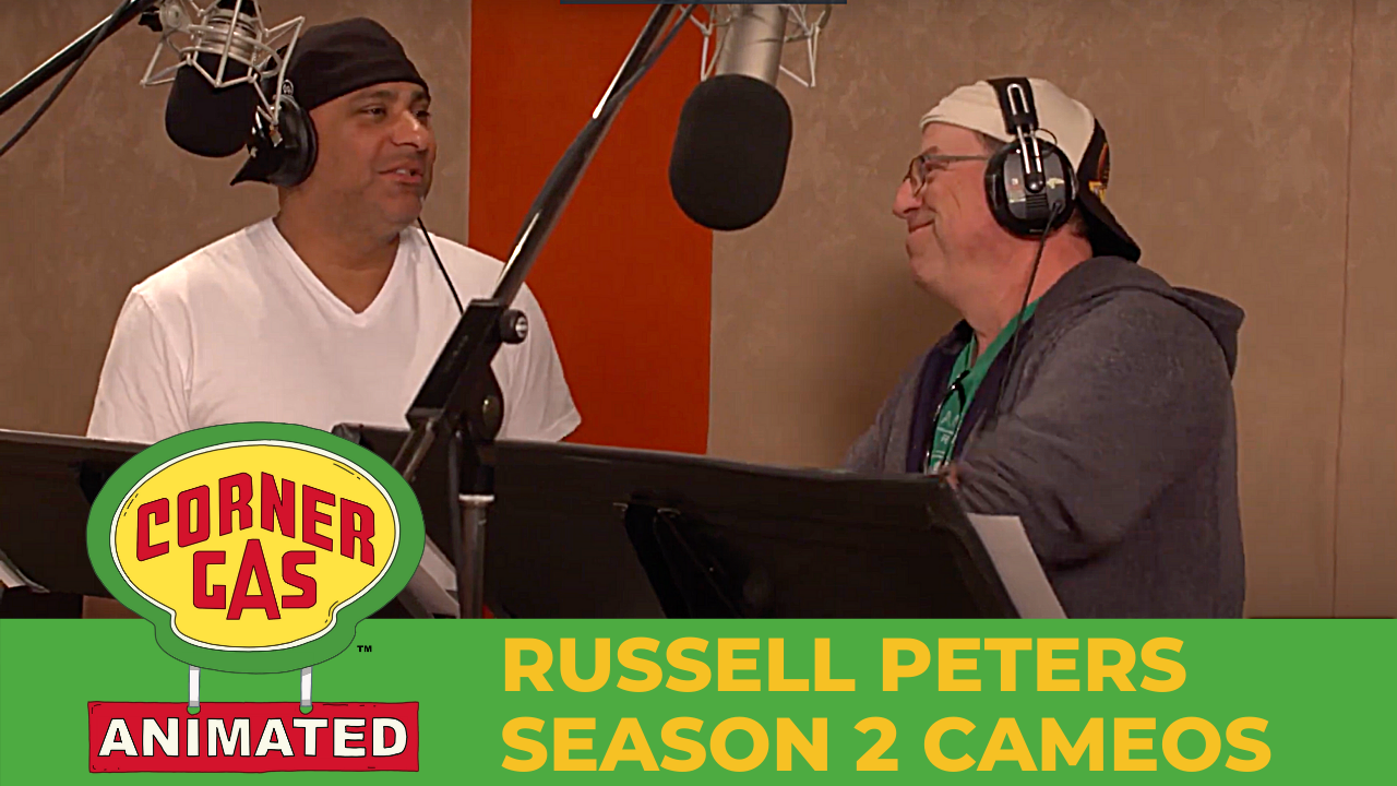 Russell Peters Cameo