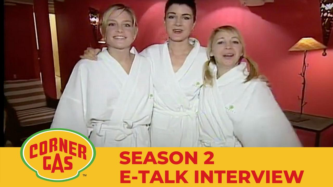 Corner Gas Season 2 E-Talk Interview Part 2