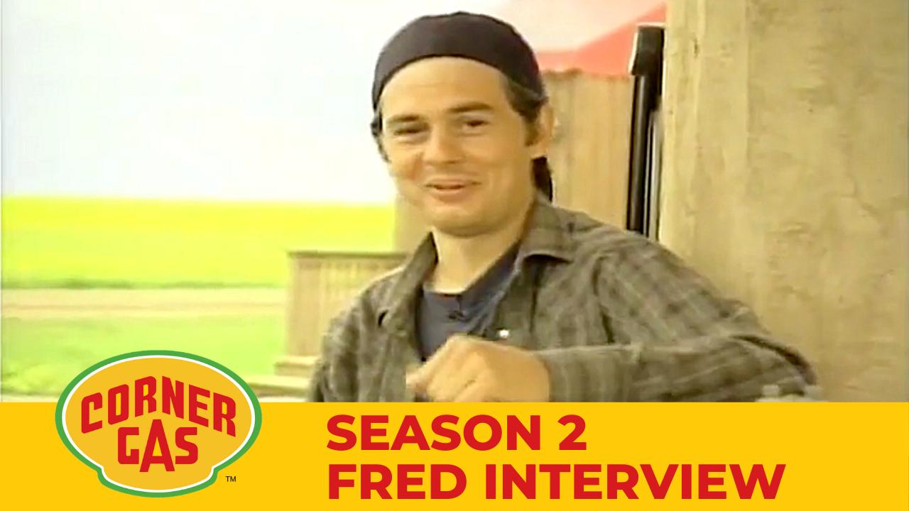 Corner Gas Season 2 Fred Ewanuick Interview