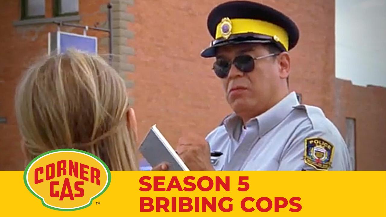 Corner Gas Season 5 Bribing Cops Clip